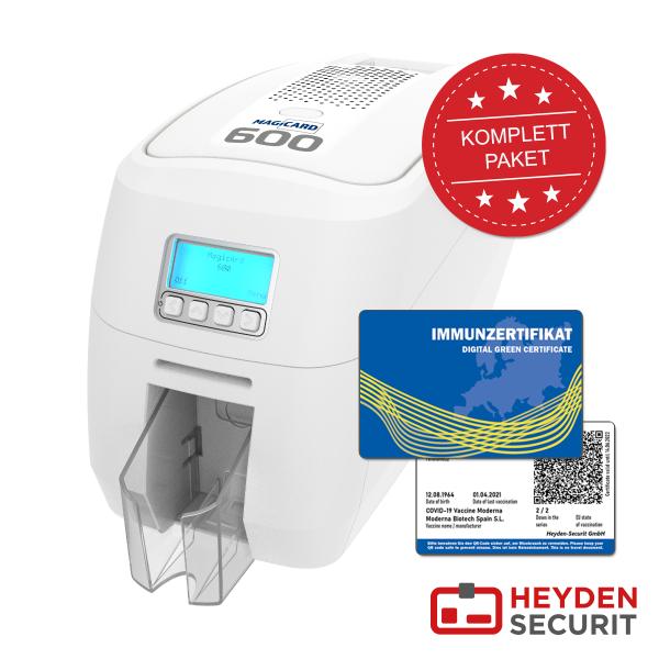 Immunzertifikat / Digitaler Impfpass Kartendrucksystem Bundle