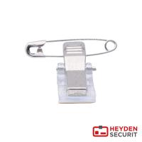 Selbstklebende Nadel-Clip Kombination, rechteckig